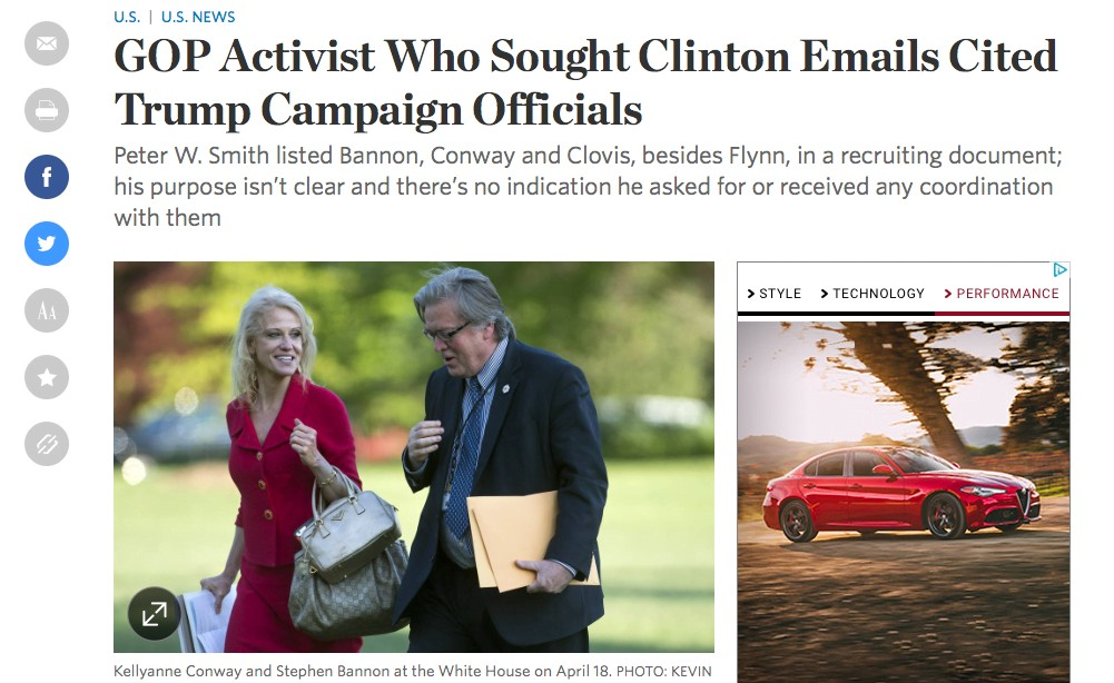 A GOP operation to recover Hillary Clinton's 30,000 missing e-mails